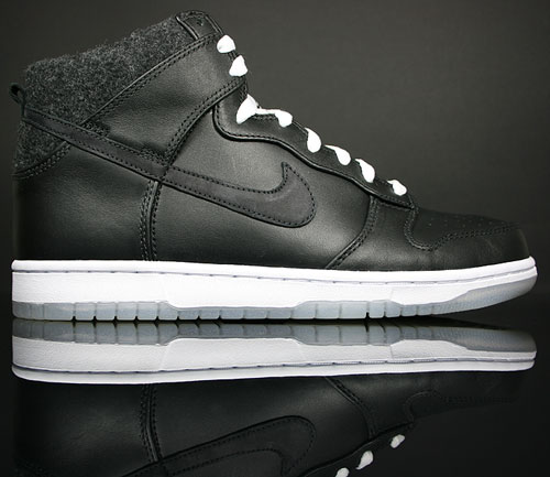 Nike Dunk Hi Premium Black/White