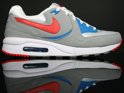 Nike Air Max Light Shadow Grey/White-Hot Red-Blue