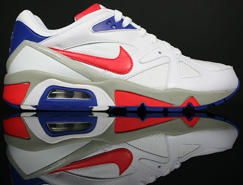 Nike Air Structure Triax 91 Weiss Rot Blau Grau