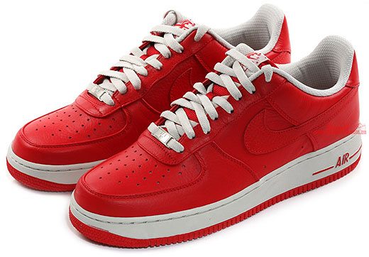 "the latest 1e48d 9ebed Nike Air Force 1 Low Premium ""Sport RedLight Bone"""