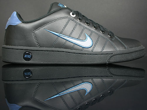 Nike Court Tradition 2 Black/Stealth-Utility Blue