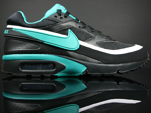 Nike Air Classic BW Schwarz/Smaragd-Gruen-Weiss