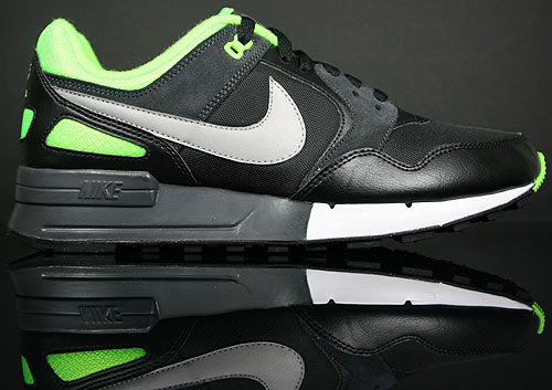 Nike Air Pegasus 89 Black/Medium Grey-Electric Green 344082-002