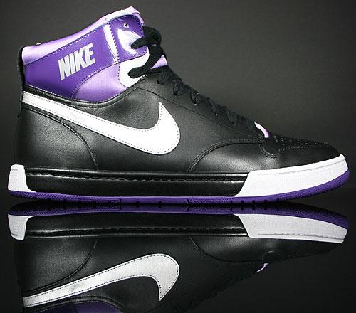 Nike WMNS Air Royalty Hi Black/Metallic Silver-Lilac 386169-001
