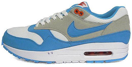 Nike Air Max 1 – White Scuba Blue…   sneakerb0b