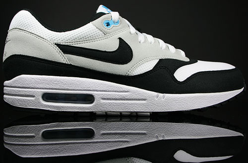 Nike Air Max 1 White/Black-Neutral Grey-Scuba Blue 308866-103