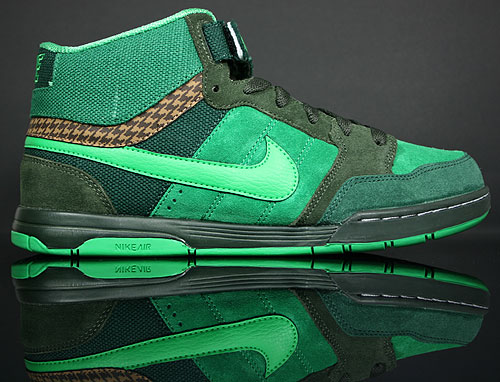 Nike Air Mogan Mid Dark Loden/Hyper Verde-Black-Forest-Pine Green 318466-300
