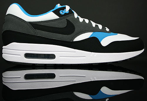 Nike Air Max 1 White/Black/Anthracite-Neptun Blue 308866-105