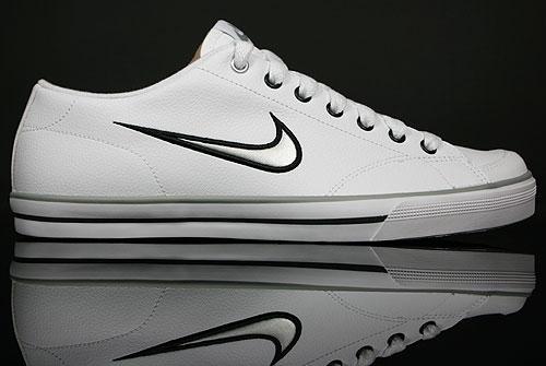 Nike Capri SI White/Metallic Silver-Black 314951-103
