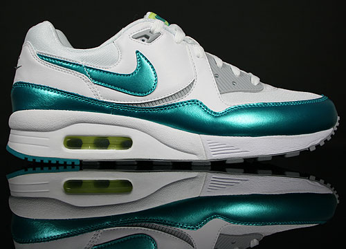 Nike WMNS Air Max Light White/TRB Green-Wolf Grey-Ultramarine 354051-103