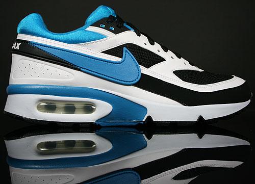 Nike Air Classic BW Textile Black/Blue-Lacquer-White 358797-006