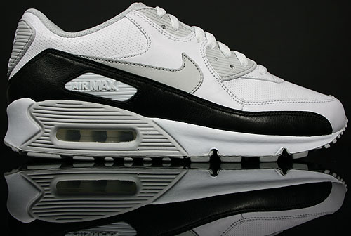 Nike WMNS Air Max 90 White/Neutral Grey-Black 375572-100