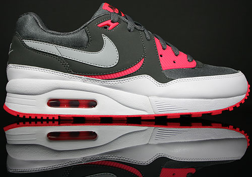 Nike WMNS Air Max Light Dark Grey/Wolf Grey-Silver Red-White 354051-001