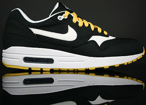 Nike Air Max 1 Black/White-Solar Flare-White 308866-005