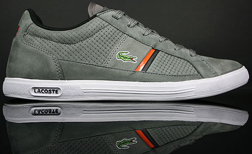 Lacoste Europa Lace NN SPM Grey/Orange 7-20SPM84422B8