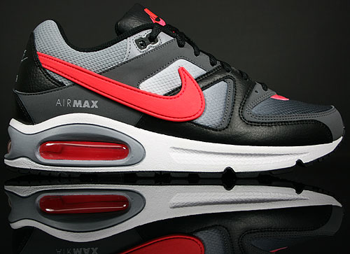 Nike Air Max Command Black/Solar Red-Stealth-Dark Grey 397689-005