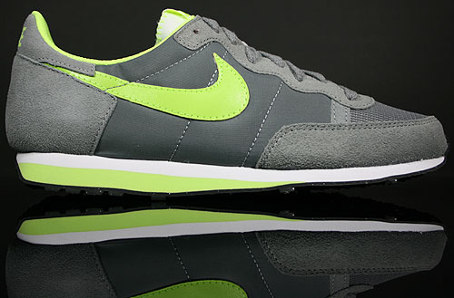 Nike Challenger Cool Grey/Hot Lime-White 379526-006