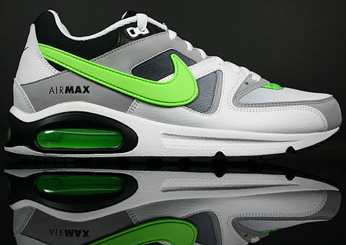 Nike Air Max Command White/Electric Green-Black-Wolf Grey 409998-100
