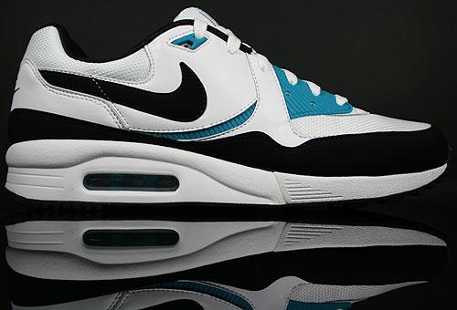 Nike Air Max Light White/Black-Glass Blue 315827-121