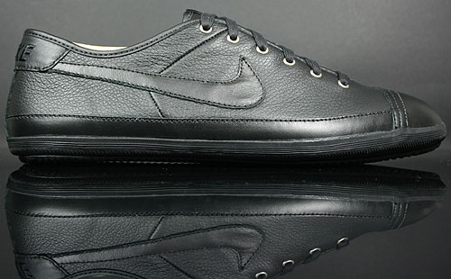 Nike Flash Leather Black/Metallic Pewter-Ink 334627-012