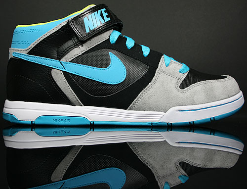 Nike Air Twilight Mid Black/Chlorine Blue-Medium Grey 343664-015
