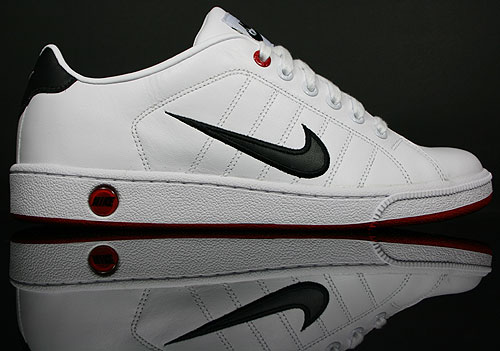 Nike Court Tradition 2 White/Black-Varsity Red 315134-102