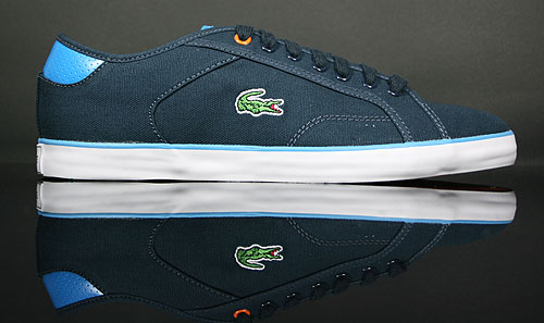 Lacoste Darton BP SPM Canvas Dark Blue/White 7-21SPM6265120
