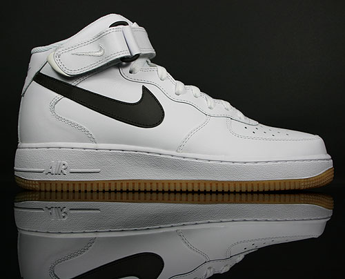 Nike Air Force 1 Mid White/Velvet Brown-Gum Light Brown 315123-103