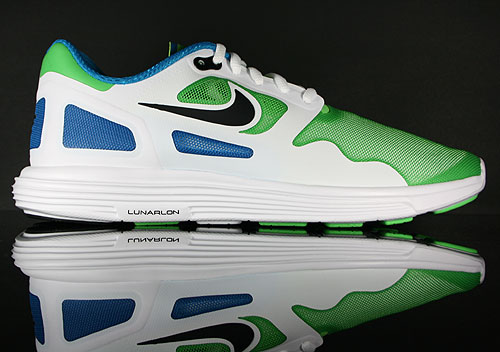 Nike Lunar Flow Neo Lime/Black-White 443631-300
