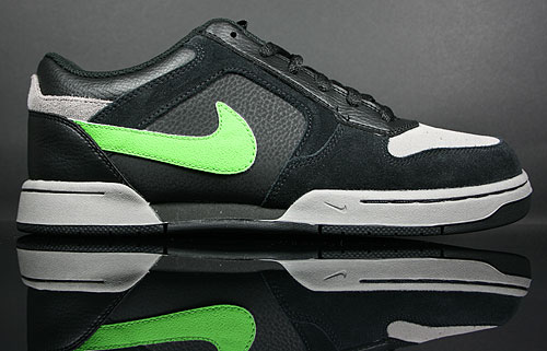 Nike Renzo Black/Green Apple-Light Charcoal 378342-012