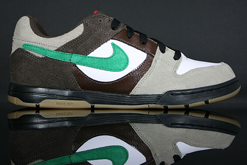 Nike Air Twilight Barbeque Brown/Pine Green-Varsity Red-White 325253-200
