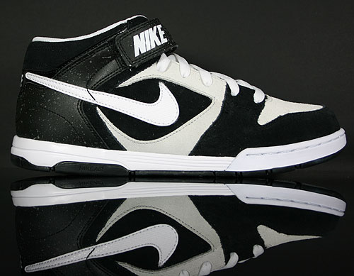 Nike Air Twilight Mid Black/White-Pure Platinum 343664-018