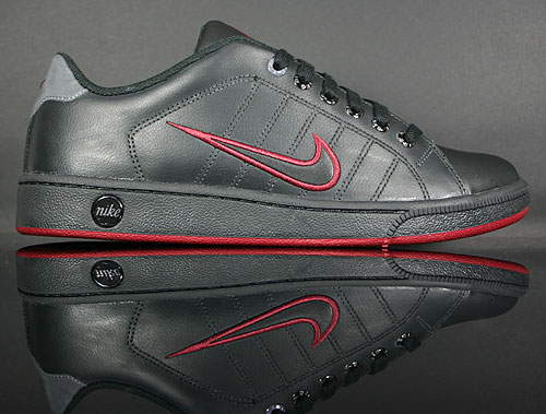 Nike Court Tradition 2 Black/Dark Grey-Red 315134-021