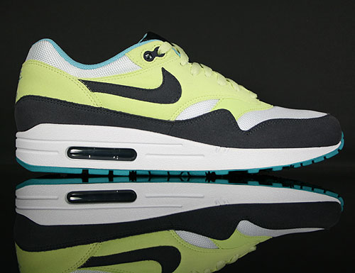 Nike WMNS Air Max 1 Citrine Yellow/Gridiron-White 319986-700