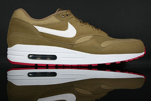 Nike Air Max 1 Brown Kelp White 308866-301