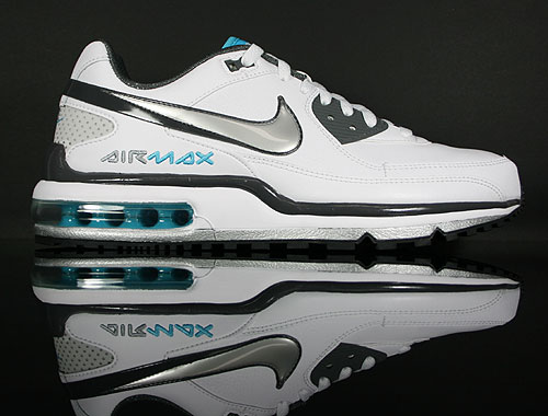 Nike Air Max LTD 2 White Metallic Silver Dark Grey Chlorine 316391-127