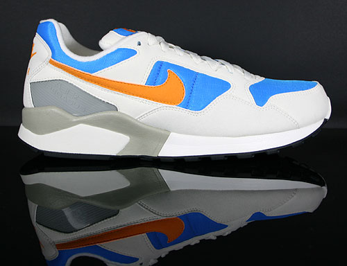Nike Air Pegasus 92 Sail Circuit Orange Photo Blue Metallic Silver 414238-102