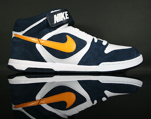 Nike Air Twilight Mid Obsidian Circuit Orange White<br /> 343664-404