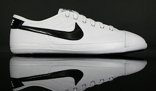 Nike Flash Leather White Black 441396-100