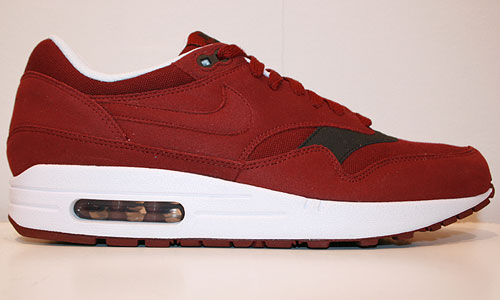 Nike Air Max 1 ND Team Red/Team Red-Velvet Brown-White 308866-601
