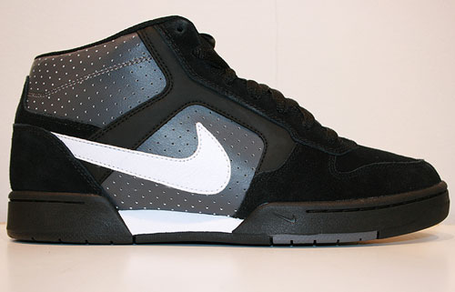 Nike Renzo Mid Black/White-Dark Grey 407938-006