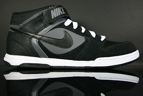 Nike Air Twilight Mid Black Dark Grey White 343664-019