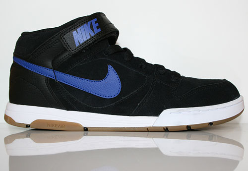 Nike Air Twilight Mid Black Drenched Blue Sneaker 343664-021
