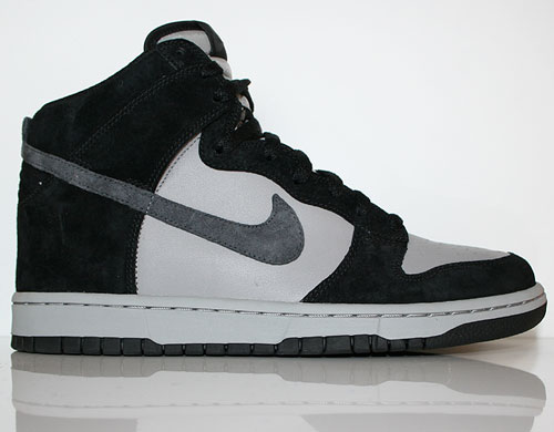 Nike Dunk High Black Anthracite Medium Grey Sneaker 317982-036