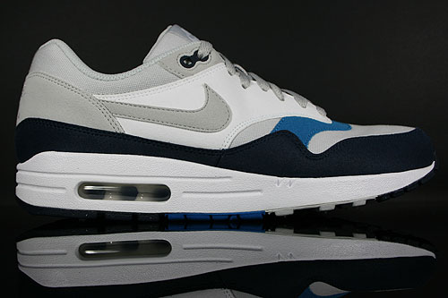 nike air max 1 obsidian blue navy white grey