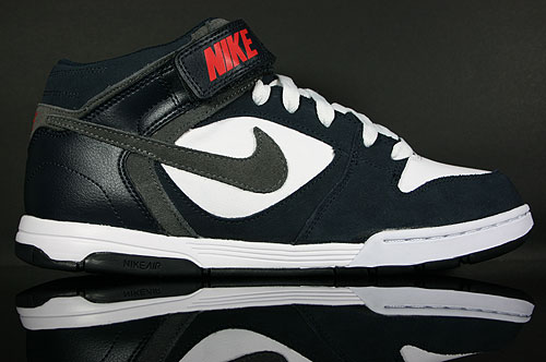 Nike Air Twilight Mid Dark Obsidian Dark Grey White Sneaker 343664-406