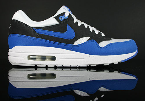 Nike Air Max 1 White Signal Blue Anthracite Pro Platinum Sneaker 308866-109