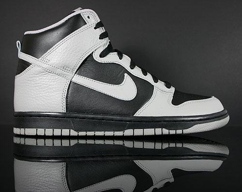 Nike Dunk High Black Medium Grey Sneakers 317982-044
