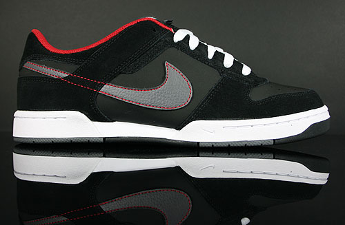 Nike Renzo 2 Black Dark Grey Red White Sneakers 454291-007