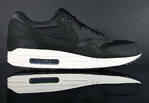 Nike Air Max 1 Black Black Sail Sneakers 308866-026